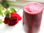Blackberry pomegranate smoothie recipe