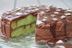 recipe for mocha rum frosting and pistachio cake