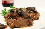 Mushroom Cabernet Steak Sauce