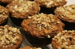 One Bowl Apple Carrot Muffins by Double Dutch