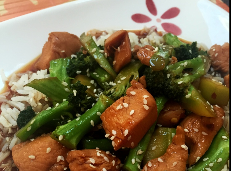 Chicken and broccoli recipe, asian recipe