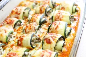recipes international gluten free zucchini lasagna rolls